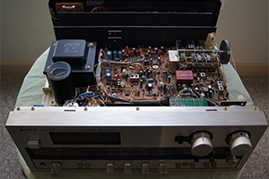 Why'd you want a repair old home stereo system - Adam's